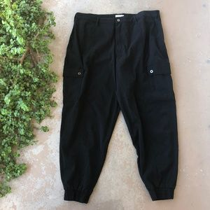 Good American The Cargo Stretch Jeans Joggers